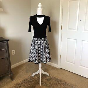 NWOT Candies Ribbed Knit Choker Dress